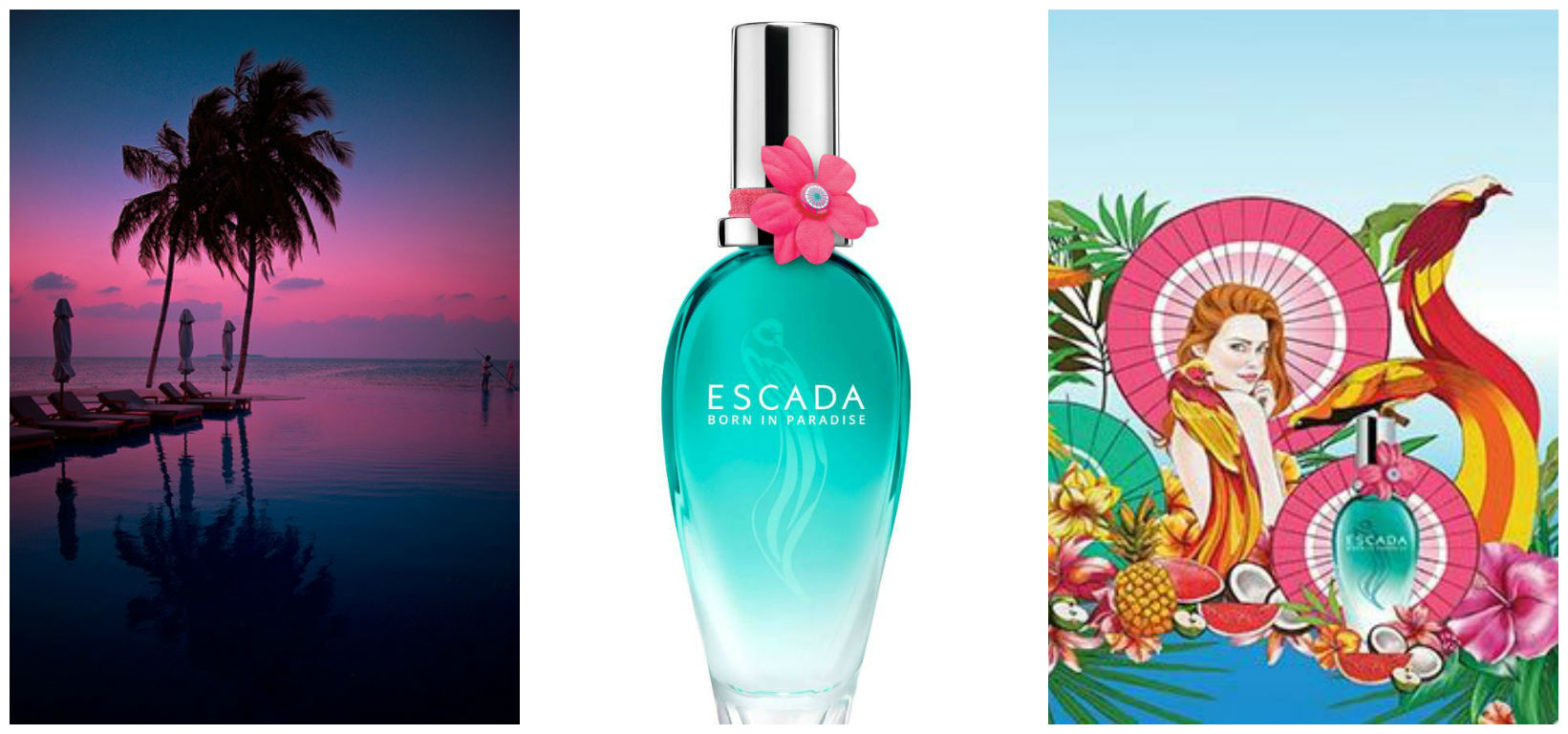 Perfume of the Day: Escada Born in Paradise
