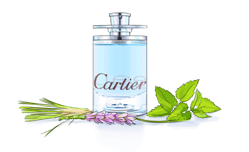 Cartier Vetiver Bleu