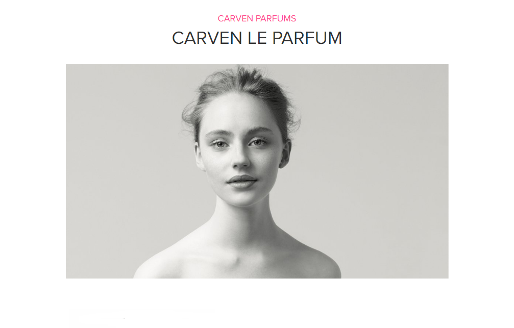 carven le parfum by carven parfums ultimate fragrant embellishment scentbird perfume and. Black Bedroom Furniture Sets. Home Design Ideas
