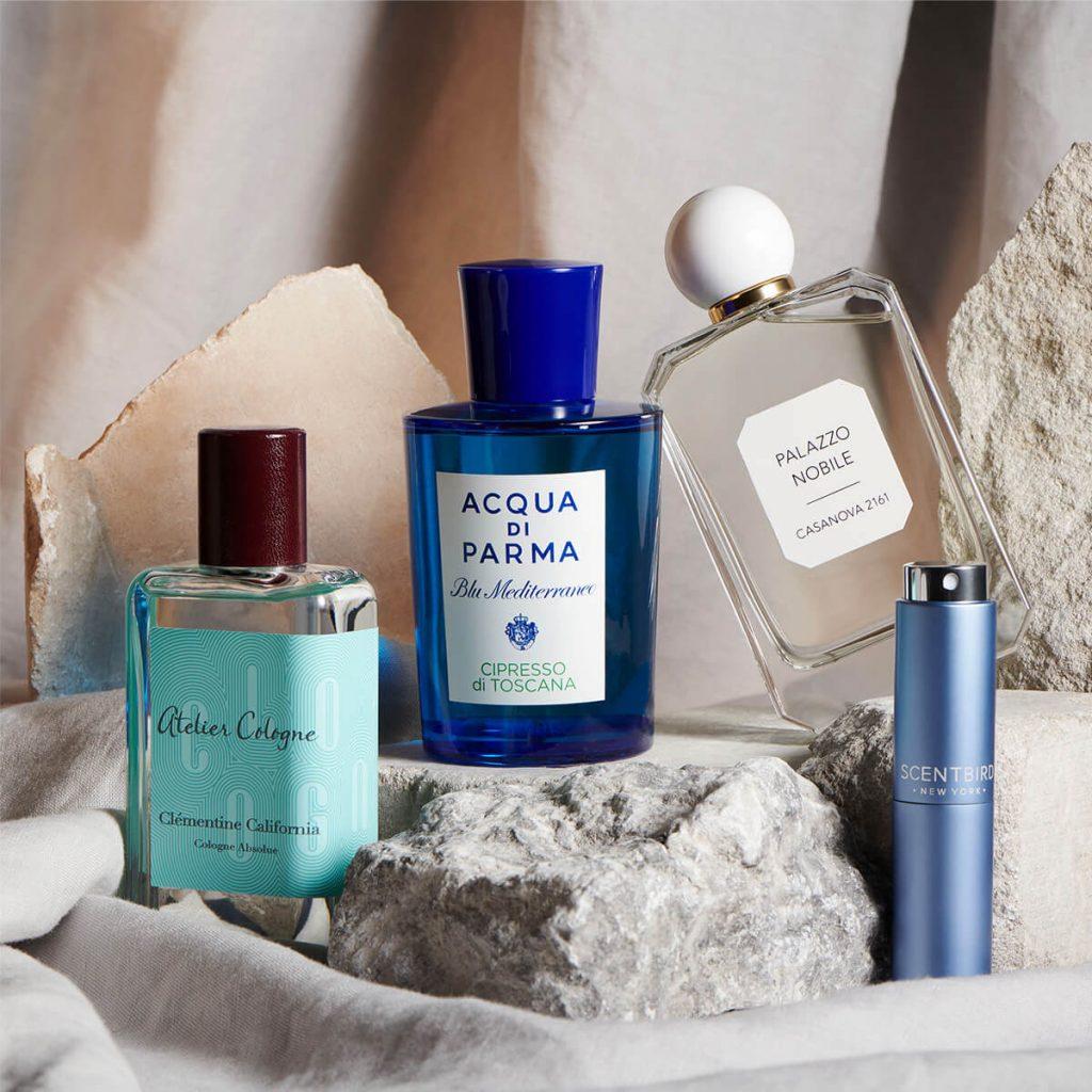 Italian perfume blends